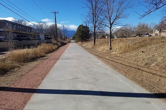 Rock Island Bike Trail Colorado Springs